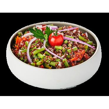 Quinoa rouge Bio, tomates...