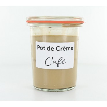 Pot de crème Café