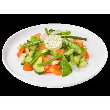 Petits légumes croquants