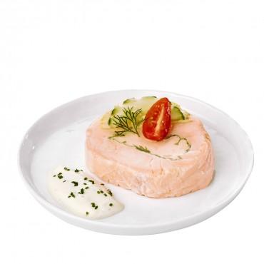 Traditionnel saumon farci...