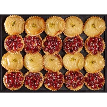 20 Mini tartes aux fruits